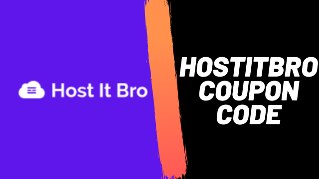 Hostitbro coupon code