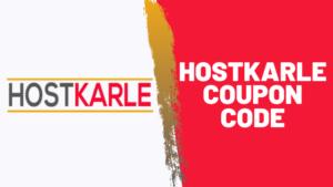 Hostkarle coupon code